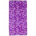 Multifunkčná šatka motív purpurový, polyester
