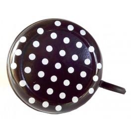 Zvonček PH Song s motívom biele bodky , farebný la