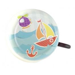 Zvonček PH Song s motívom loď, farebný lak