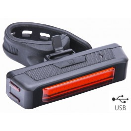 Svetlo zadné 16 červených LED, 65 Lm 3F, USB nabíj